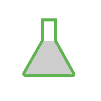 Icon of a beaker